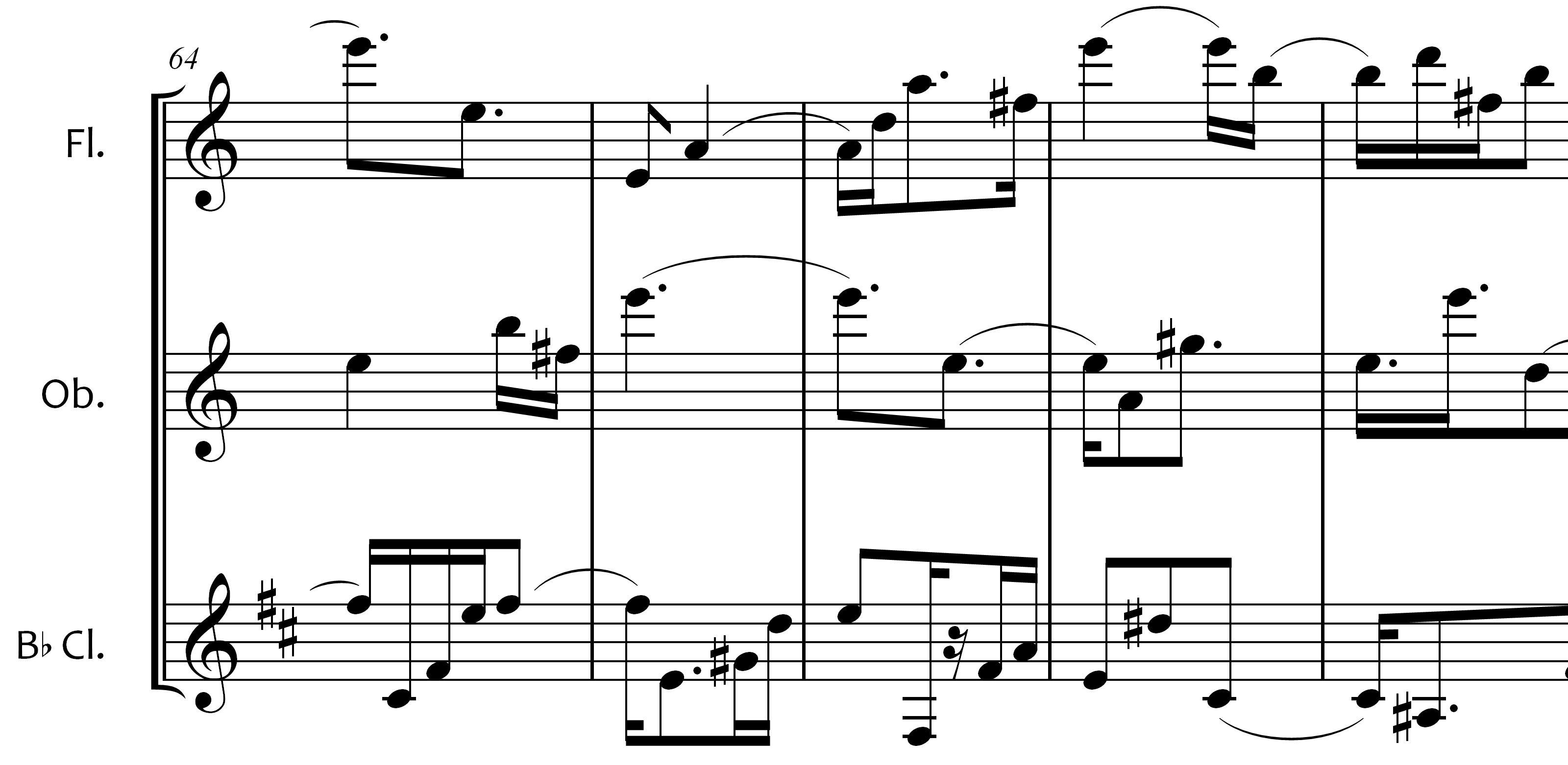 Woodwind Trio Sheet Music